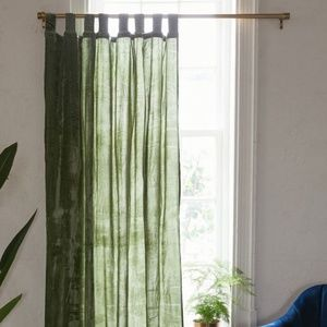 Urban Outfitters Crushed Velvet Window Curtain